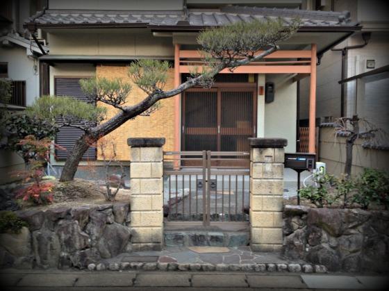Questa non è casa mia! E' quella del mio vicino! Ma visto che noi l'albero non ce l'abbiamo ho messo la foto della sua!